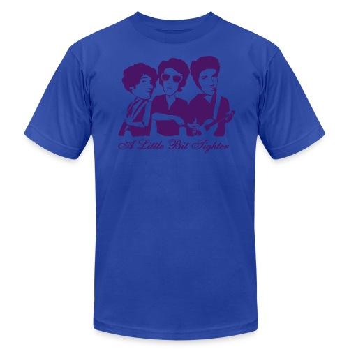 American Apparel A Little Bit Tighter (Men's - Blue) - Men's Fine Jersey T-Shirt