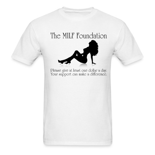 The MILF Foundation (Men) - Men's T-Shirt