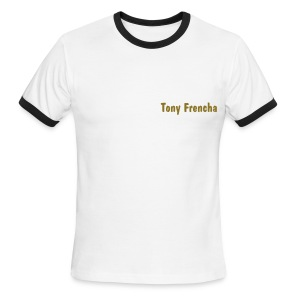 FrenchDeejay Basic  - T-shirt à bords contrastants pour hommes American Apparel