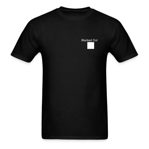 Blacked Out New Zealand - Men's T-Shirt