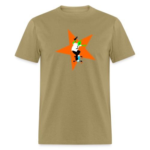 Alien Skater - Men's T-Shirt