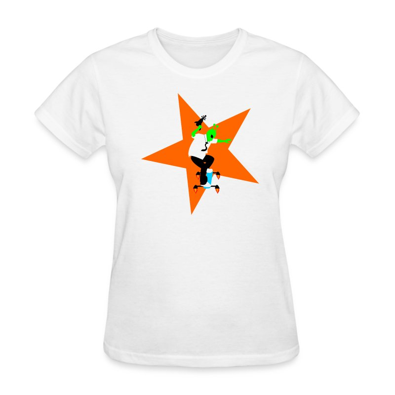 Alien Skater - Women's T-Shirt