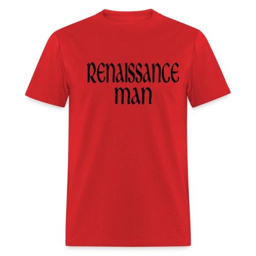 WUBT 'Renaissance Women' Men's Standard T-Shirt, Red - Men's T-Shirt