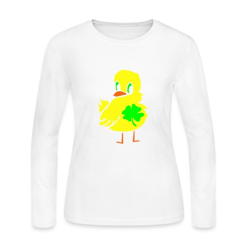Irish Chick - Women's Long Sleeve Jersey T-Shirt