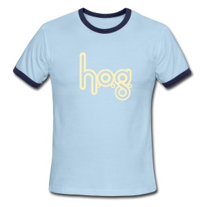 HOG: Cream on Chocolate - Men's Ringer T-Shirt
