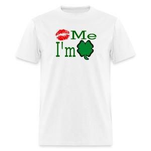 Kiss Me I'm Irish - Men's T-Shirt