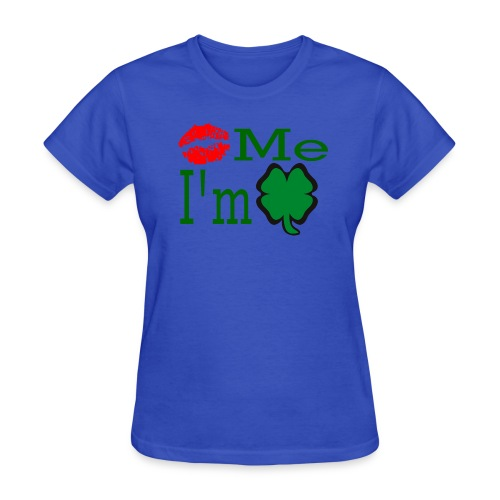 Kiss Me I'm Irish - Women's T-Shirt