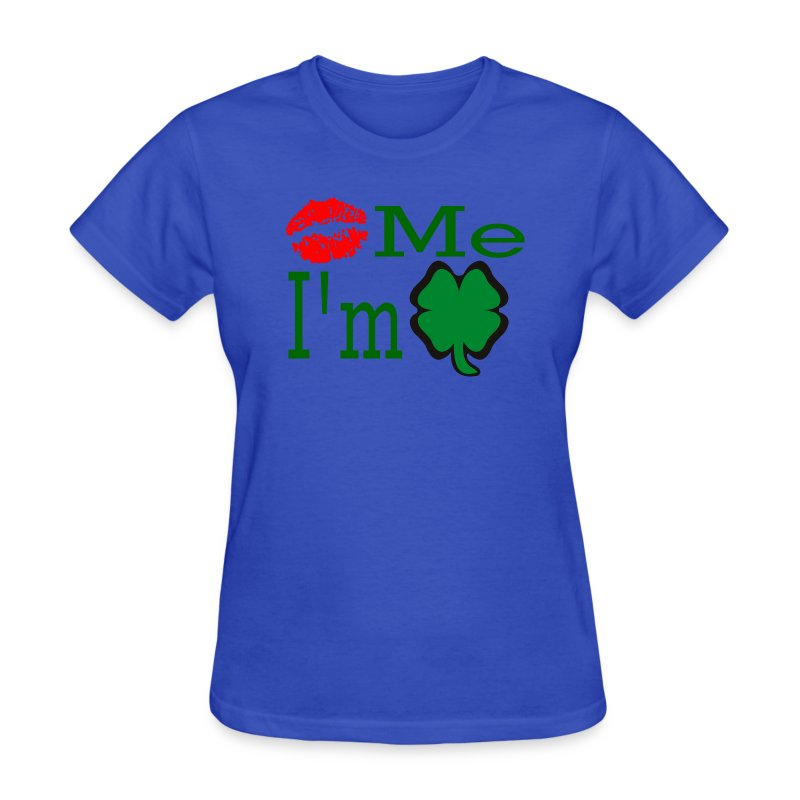Kiss Me I'm Irish - Women's T-Shirt