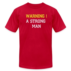 STRONG MAN - Men's Fine Jersey T-Shirt