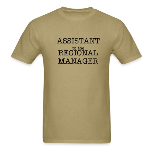 Assistant To The Regional Manager - Men's T-Shirt