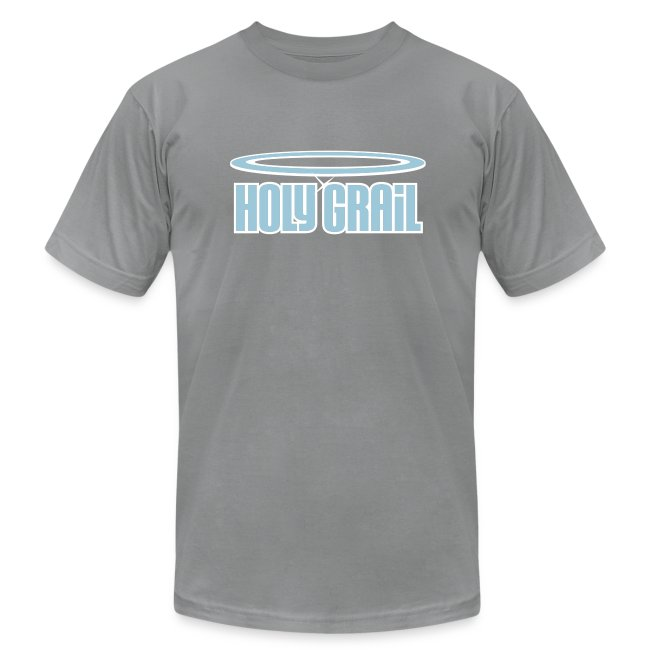 Holy Grail: Light Blue & White on Slate