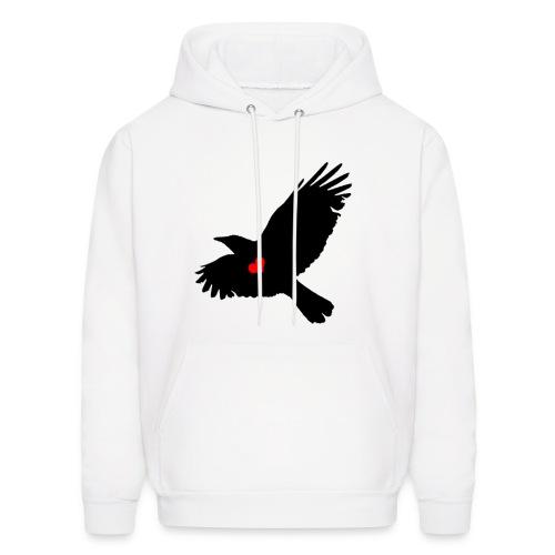 Crow Heart - Men's Hoodie