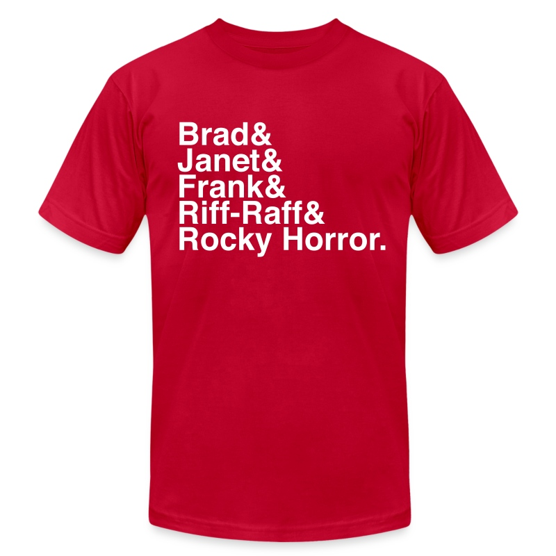 Rocky Horror Picture Show - Men's T-Shirt by American Apparel