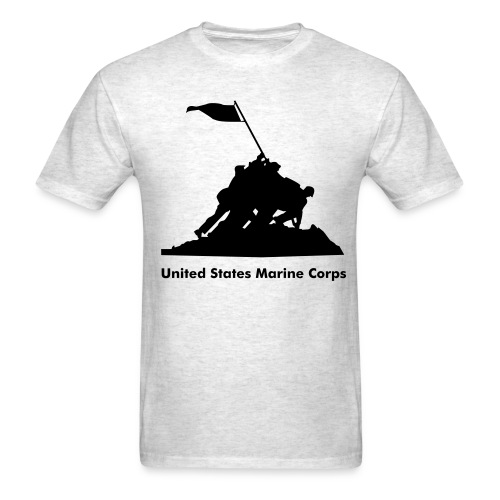 USMC flag - Men's T-Shirt