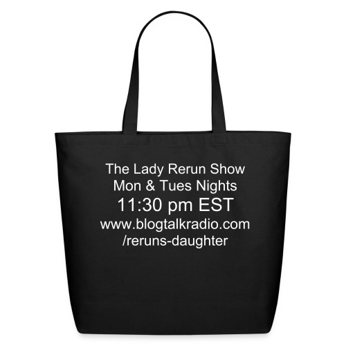 Lady Rerun Show Tote - Eco-Friendly Cotton Tote