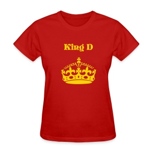 King D champ WMN tee 4 - Women's T-Shirt