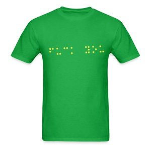 Fuck You in Braille - Men's T-Shirt