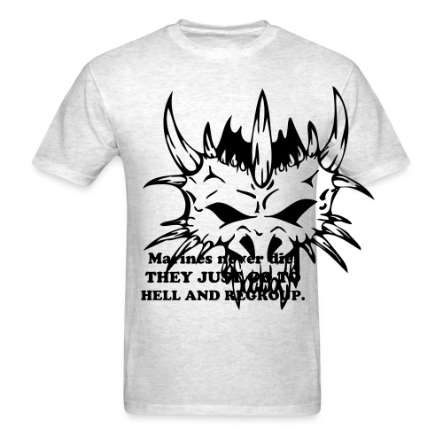 Regroup in Hell - Men's T-Shirt