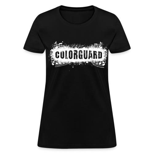 Color Guard 2009 Womens Standard T shirt - Women's T-Shirt