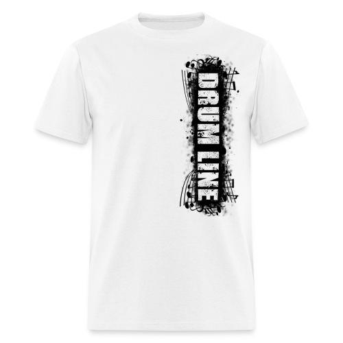 DrumLine Mens Black - Men's T-Shirt