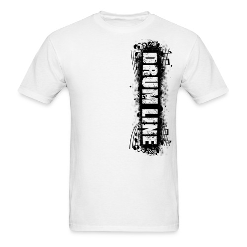 DrumLine Mens Black - Men's T-Shirt