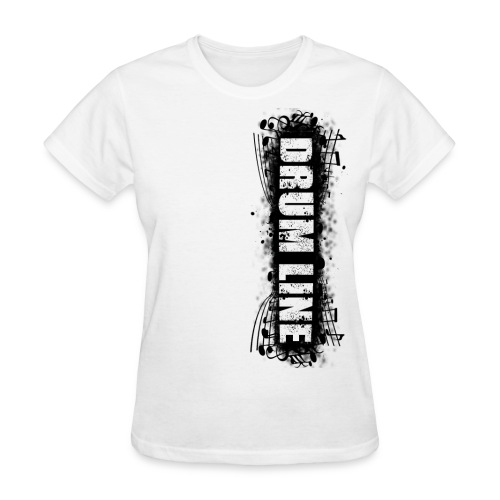 DrumLine Womens Black - Women's T-Shirt