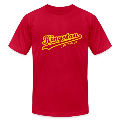 kingston - red - Men's  Jersey T-Shirt