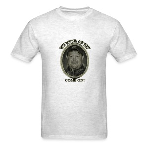 How boutcha one time come on, Jackson! - Men's T-Shirt