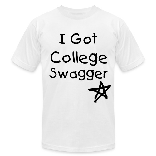 College Swagger - Men's Fine Jersey T-Shirt
