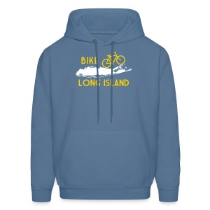 Bike Long Island - Men's Hoodie