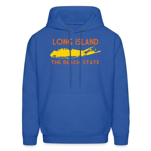 Long Island The Beach State - Men's Hoodie