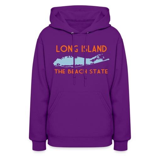 Long Island The Beach State - Women's Hoodie