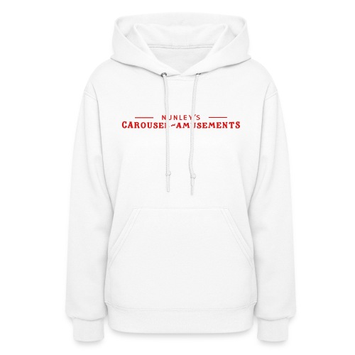 Nunley's Carousel and Amusements - Women's Hoodie