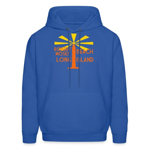 Robert Moses Beach Long Island - Men's Hoodie