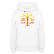 Hoodies ~ Women's Hoodie ~ Robert Moses Beach Long Island