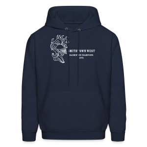 Smithtown West Badminton Champions - Men's Hoodie