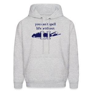 You can't spell life without LI - Men's Hoodie
