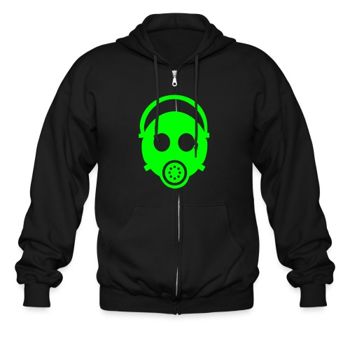 green mask - Men's Zip Hoodie