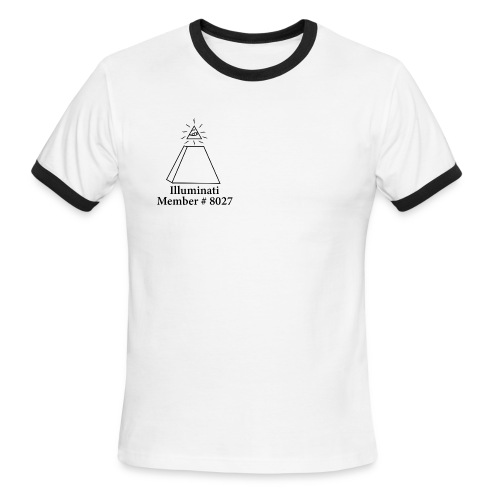 Official Illuminati Member - Men's Ringer T-Shirt