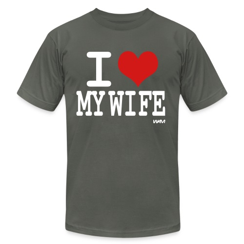 I love my wife - Men's  Jersey T-Shirt
