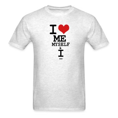 Ash  i love me my self and i by wam T-Shirts