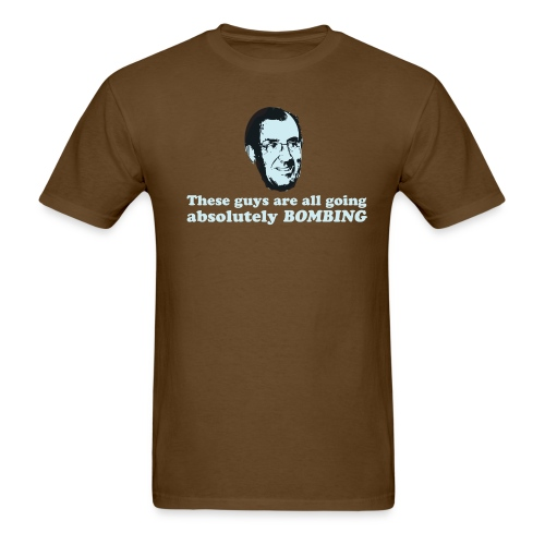 David Hobbs - Bombing - Men's T-Shirt
