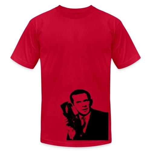 JETS Shoe Phone - Men's Fine Jersey T-Shirt