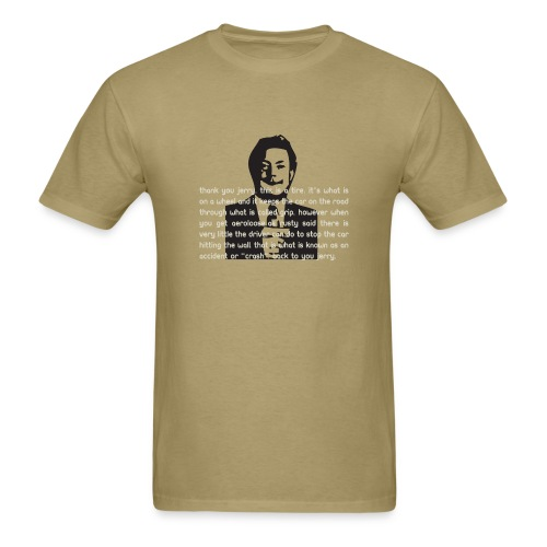 Tim Brewer - This is a tire - Men's T-Shirt