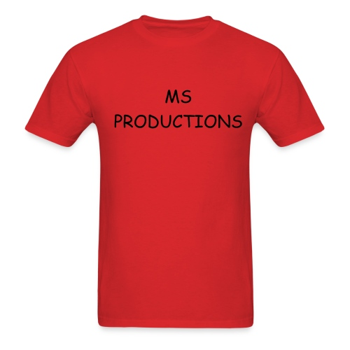 MS Productions T-Shirt(Comic Sans MS) - Men's T-Shirt