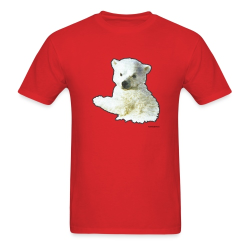 Bret's New Polar Bear Tee - Men's T-Shirt