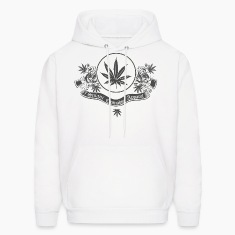 White Sniani Cannabis Apparel Hoodies