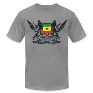 Rasta Nation - Men's T-Shirt by American Apparel