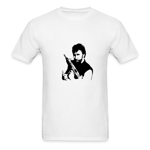 CHUCK NORRIS - IS THERE ANYTHING HE CAN'T DO? - Men's T-Shirt