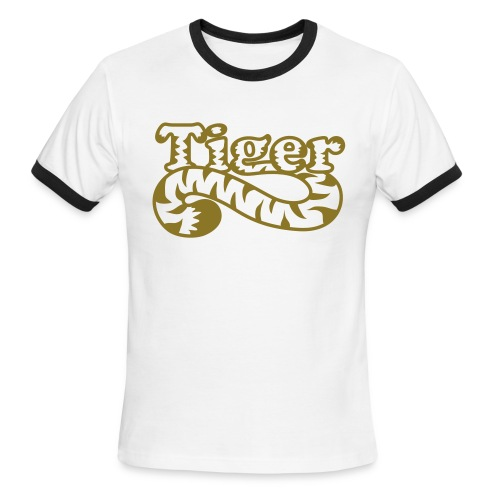 Tiger Ringer - Men's Ringer T-Shirt
